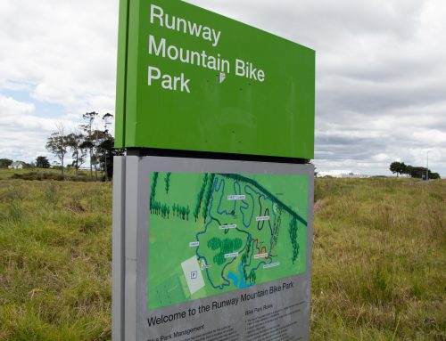 Mountain Bike Trail Construction at Auckland Airport