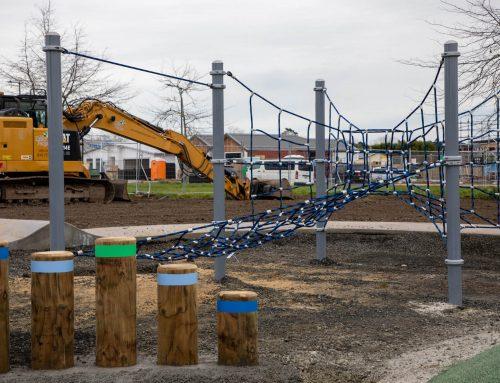Pocket Play Park Construction at Milldale